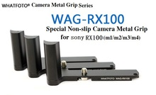 Quick Release L Plate WAG-RX100 Camera Metal Grip for Sony RX100 RX100II-M2 RX100IV-M4 RX100I-M1RX100M4 M3 M2 M5