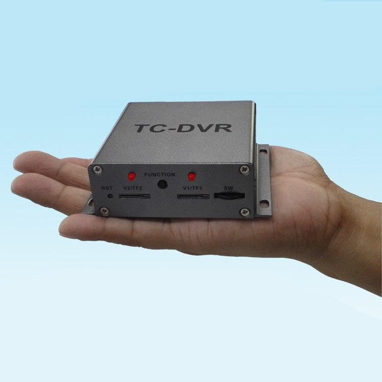 Two channel video input TC-DVR MINI DVR Mini Security DVR - SD Card Recording, Remote Control