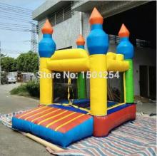 high quality PVC tarpulin mini inflatable bouncer wonderful for kids for fun toy free shipping
