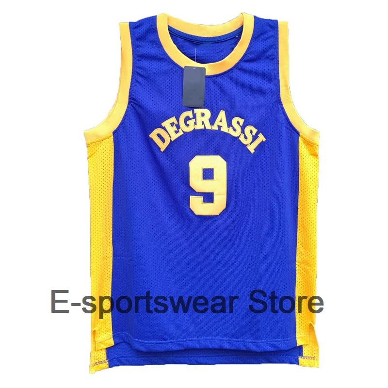 5179c9e15a5c Cheap Drake Jimmy Brooks Degrassi Community School Basketball Jersey ...