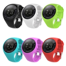 OOTDTY 	Silicone Watch Band Wristband Bracelet Replacement For Polar M200 GPS Watch