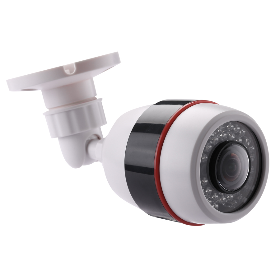 Hamrolte 1080P CCTV Camera 5MP 1.7MM Fisheye Lens 180Degree Panoramic AHD Camera Night Vision Waterproof Outdoor Bullet Camera