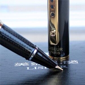 Image 5 - Pluma estilográfica de lujo de Metal, pluma de tinta de alta calidad para oficina y escuela, suministros de papelería para escribir