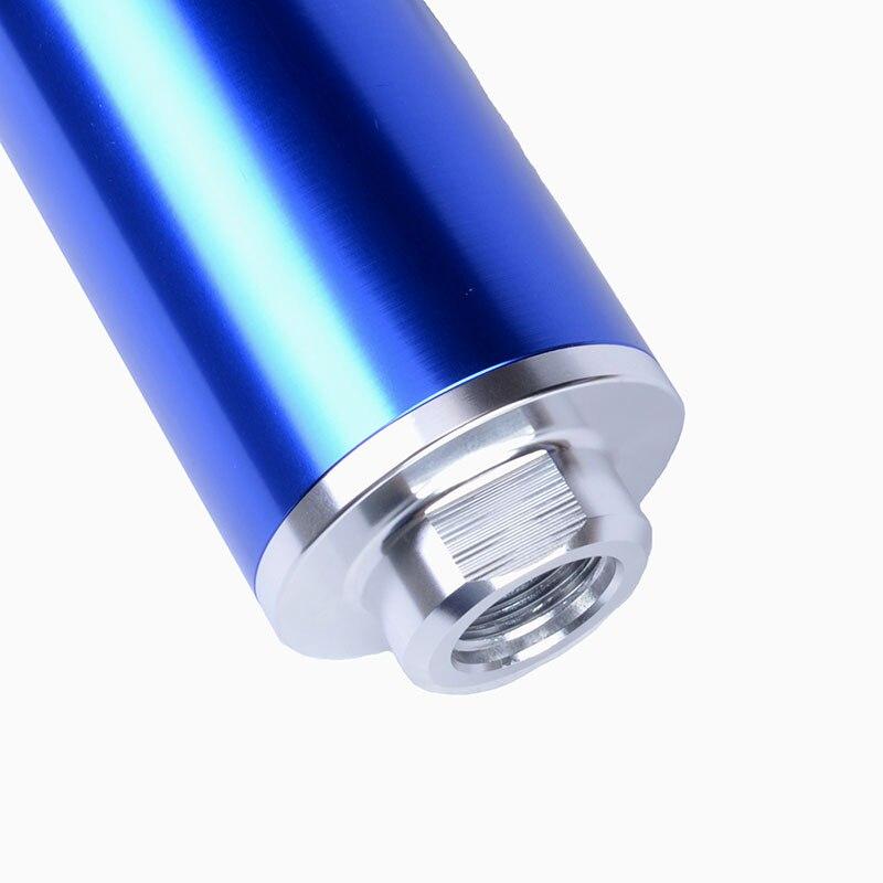 Kit de filtre à essence en ligne de carburant en aluminium SPEEDWOW filtre à carburant à haut débit adaptateur de raccords AN10/AN8/AN6 avec support de pompe à carburant - 3