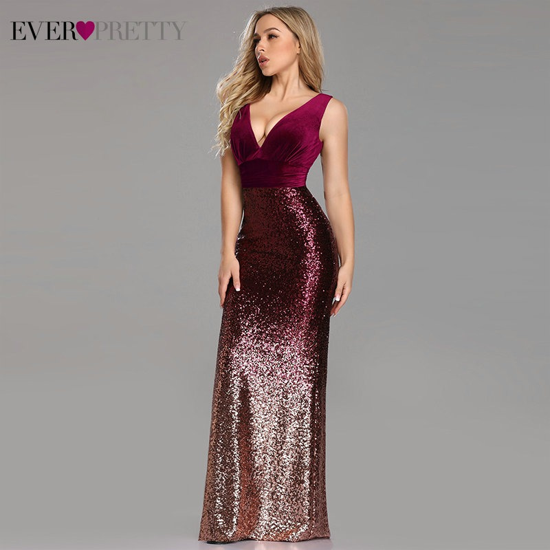 a39e697204 Cheap Price Elegant Crystal Beaded Red Royal Blue Lace Mermaid Long ...