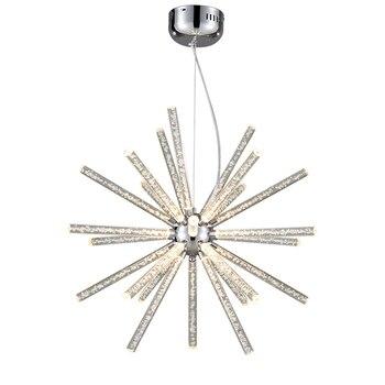 LED Minimalismo acrílico luces luz blanco 6 colgantes cálido rxBtshCdoQ