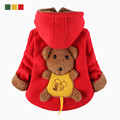 Child wadded jacket male female child cotton-padded jacket children's clothing plus velvet thickening winter thermal boys girls