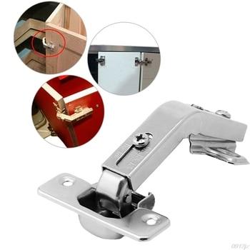 Bisagras de puerta de armario plegables en esquina de 135 grados, puerta de armario de cocina de baño de casa, C90A, nuevo envío directo