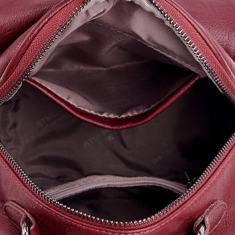 Gykaeo Womens Backpack 2018 Summer New Korean Multifunctional Soft Leather Youth Street Leisure Bag Ladies Travel Backpacks