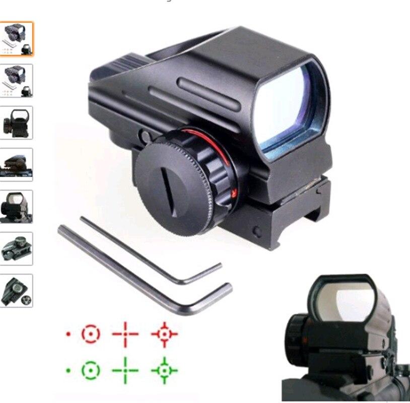 Lunette de visée holographique à point rouge pour pistolet de chasse