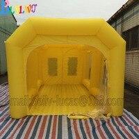 BLYLWJ 7*4*3 м специальные тент для покраски, портативный надувные красильной, подходит для надувной краской автомобиль