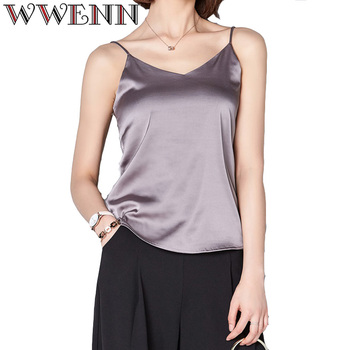 High Quality Spring Summer Casual 7 Colors Shirt Sleeveless Blouse Women Blusas