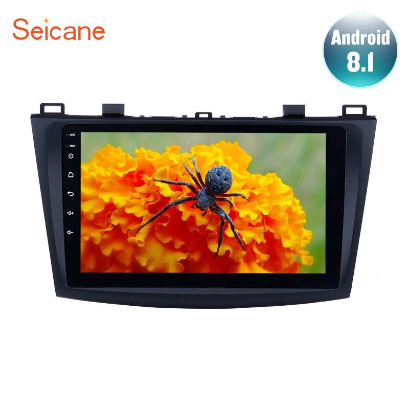 Seicane 9 Android 8 1 Car GPS Navigation Radio Multimedia Player for 2009 2012 MAZDA 3
