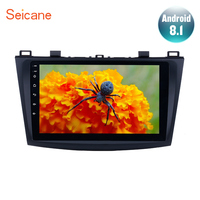 Seicane 9 Android 8.1 Car GPS Navigation Radio Multimedia Player for 2009 2012 MAZDA 3 support Rear camera DVR DAB+ TV tuner 3G