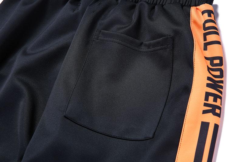 Striped Patchwork Harem Pants 10