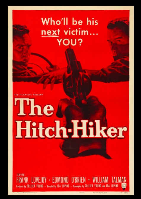 The Hitch-Hiker Classic Movie Film Noir Retro Vintage Poster Canvas Painting DIY Wall Paper Home Decor Gift image