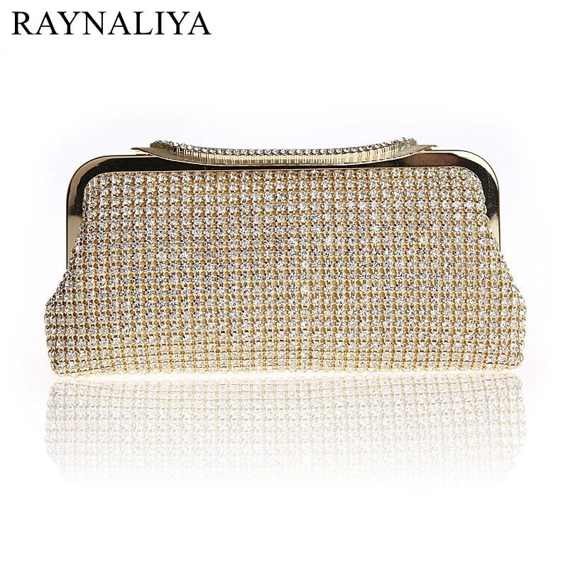 2017 Promotion Sale Frame Women Wedding Clutches Bag Crystal Evening Bags Party Purses Small Handbag Clutch Smysfx-e0255