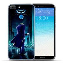 Luxury Marvel Avengers Heroes Case Coque For Huawei Honor 10 9 8 Lite 7 7A 7X 7C 6A 6X Silicone Case Cover Capinha Fundas Etui