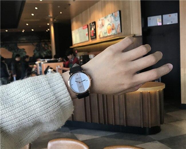 3e08d7c4452 Casal Relógios para Amantes Par Ultrafinos luxo marca Quartz Relógio ...