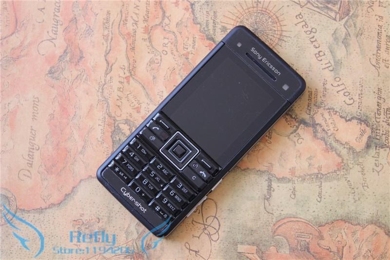 Refurbished phone Sony Ericsson C902 3G 5MP Bluetooh MP3 MP4 Player black 1