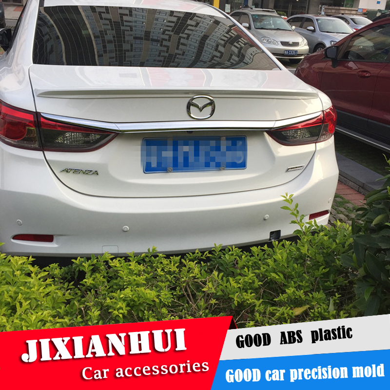 For <font><b>Mazda</b></font> 6 ATENZA <font><b>Spoiler</b></font> 2014-2016 Mazda6 ATENZA yck <font><b>Spoiler</b></font> ABS plastic Material Car Rear Wing Color Rear <font><b>Spoiler</b></font> image