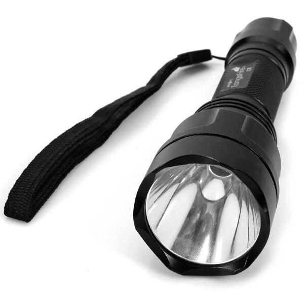 TangsFire C8 Cree XM-L T6 1000-Lumen 5 Modes White Light Torch Flashlight