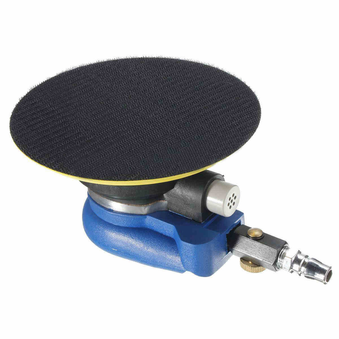 High Qaulity Sandpaper Grinding Polishing Sander 6'' Air Random Orbital Palm Vacuum Polisher Mayitr Auto Body Orbit DA Sander hilda 5inches random orbital air for palm sander