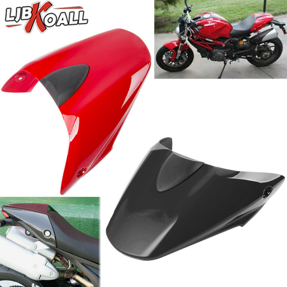 New Motorcycle Tail Rear Cowl Cover Fairing Solo Seat Cover For Ducati Monster 659 696 796 1100 S 2009 2010 2011 2012 Red Black