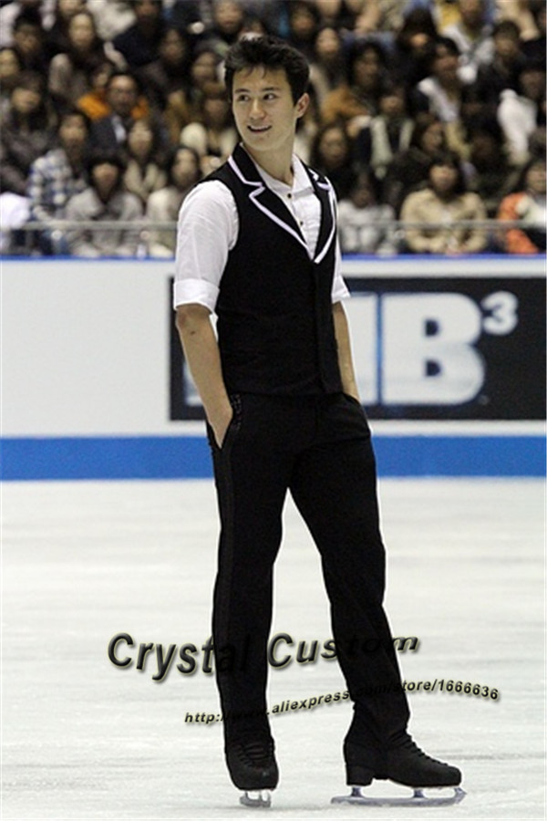 Custom Figure Skating Clothes For Men /Boys Fashion New Brand Vogue Figure Skating Competition Costume DR3146