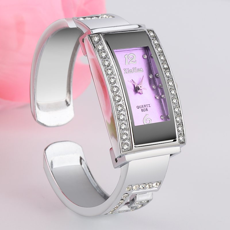 Xinhua Top Luxury Diamond Bracelet Watch Women Watches Steel Bangle Women's Watches Ladies Watch Clock Saati Relogio Feminino