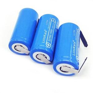Image 3 - Liitokala 2019 bateria de 3.2v 32700 7000mah, 6500mah lifepo4 35a descarga contínua máxima 55a bateria de alta potência + folhas de níquel