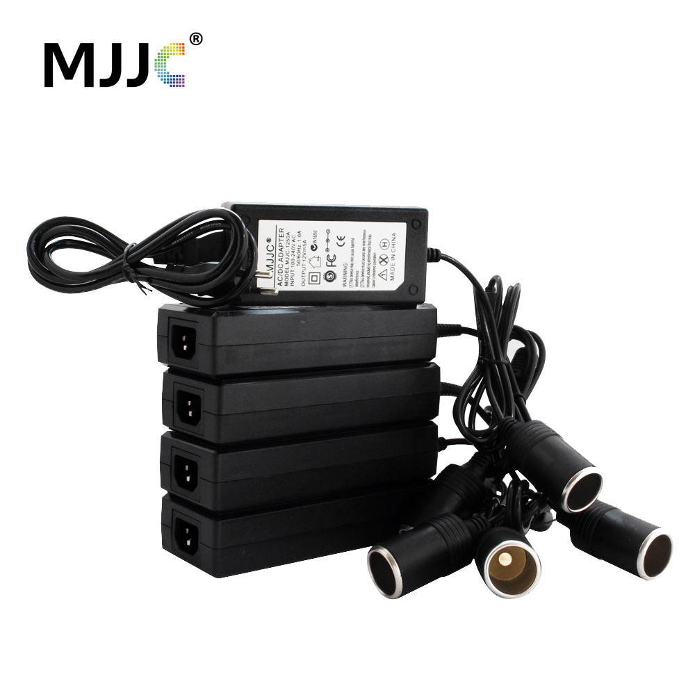 Car Cigarette Lighter AC Adapter 12V 10A 110V 220V to 12V 5A Power Adapter Converter Inverter DC Cigaret Transformer Lighter
