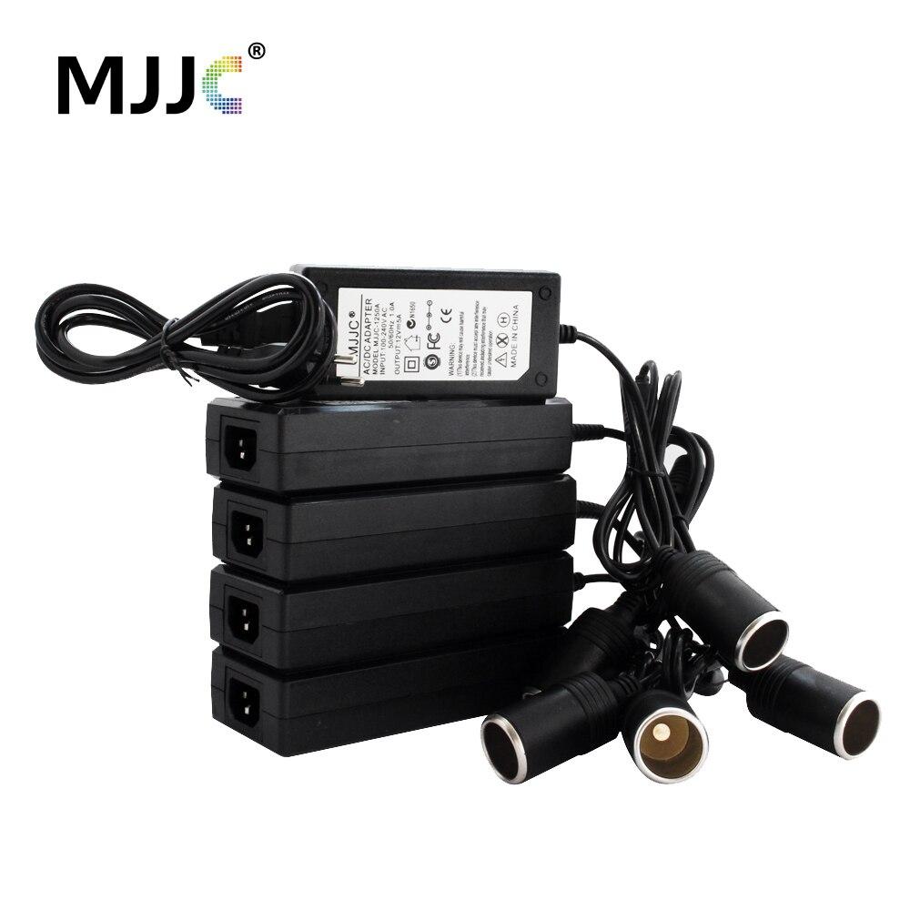 Cigarro do carro Isqueiro Adaptador AC 12 V 10A 110 V 220 V para 12 V 5A Power Adapter Converter Inversor DC Transformador de Cigarro Mais Leve
