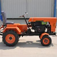 15HP Versatile Four wheel Tractor Cultivators Rotary Machine Transport Equipment
