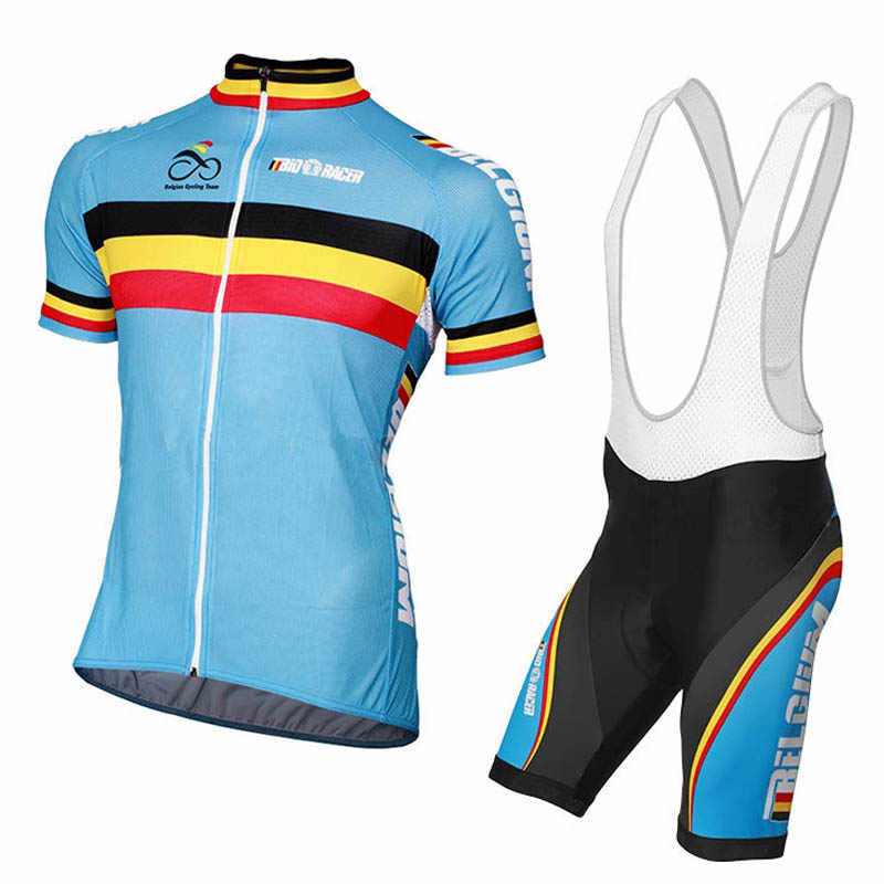 13e1f5b20 2016 belgium NATIONAL TEAM Short Sleeve Jersey cycling jersey cycling  clothing ROAD team Cycling Sets bike