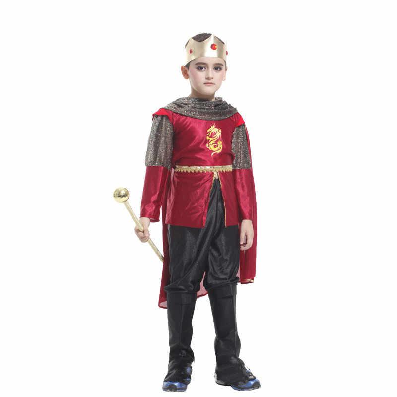 2019 nuevo disfraz de cosplay de Halloween, juego de actuación de Navidad, juego de rol de Rey Árabe, traje de escenario para niños