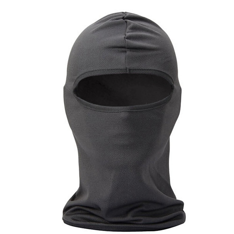Multifunctional Bandana / Cap for Bike / Hood Resistant Face Mask Wind and the Dust for Sport, Outdoor, traveling Grey