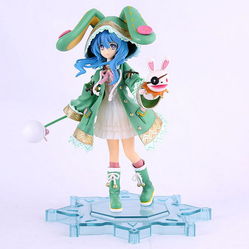 Japanese Anime Action Figure Date A Live Yoshino Hermit 1/8 Scale Painted Girl PVC Figure Resin Collection Model Toy Gifts 10cm japanese anime figure j g chen retail wholesale anime cute nendoroid 4 date a live yoshino action figure collection model