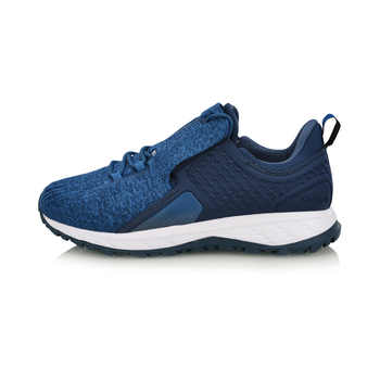 Li-Ning Men LN CLOUD SHIELD 2018 Cushion Running Shoes WATER SHELL Mono Yarn Breathable LiNing CLOUD Sport Shoes ARHN085 SOND18