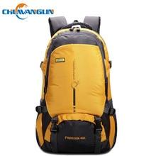 Chuwanglin 45L men travel bags fashion waterproof backpack