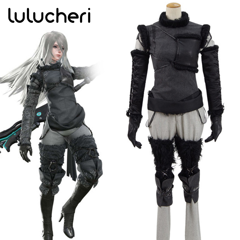 Hot Game NieR Automata Cosplay Costumes Anime Uniform Outfit Clothes Full Set Suit Custom Made Halloween