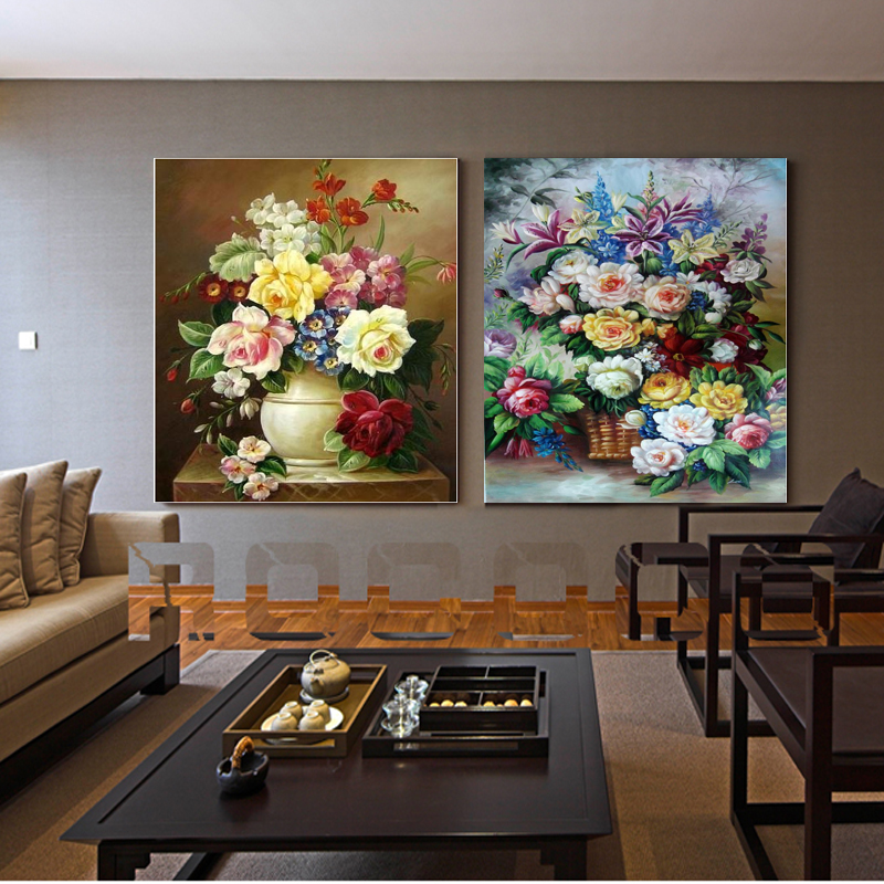 Buy 3 Piece Canvas Painting Wealth And