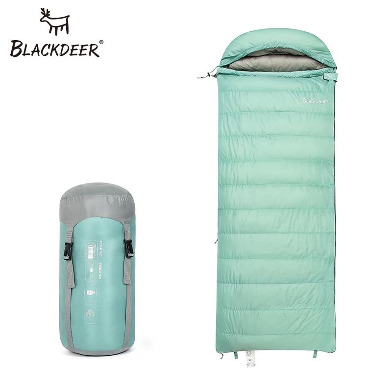 Blackdeer -18 degree Ultralight White Duck Down Sleeping Bag Splice Portable Outdoor Envelope Type Lazy Bag Camping Sleep Bags