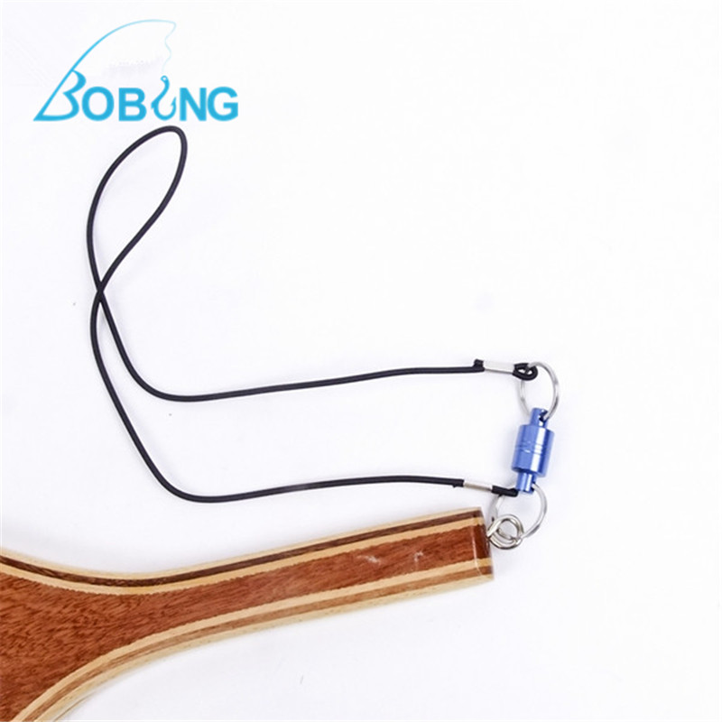 Bobing Metal Magnet Magnetic Connecting Hang Buckle Fishing Net Release Fly Fishing Dip Net Magnetic Clasp Tackle Accessories