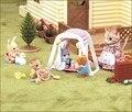 Новый Дети Делают Вид, Игрушки! подлинная Sylvanian Families Миниатюрный Дом Ребенка Качели Кукольная Мебель Детский Сад Игрушки