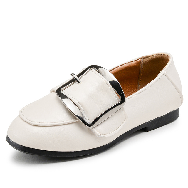 Girls Leather Shoes Children Shoes 2017 Spring Gentlemen England Style Fashion Boys Shoes Kids Casual Single Shoes