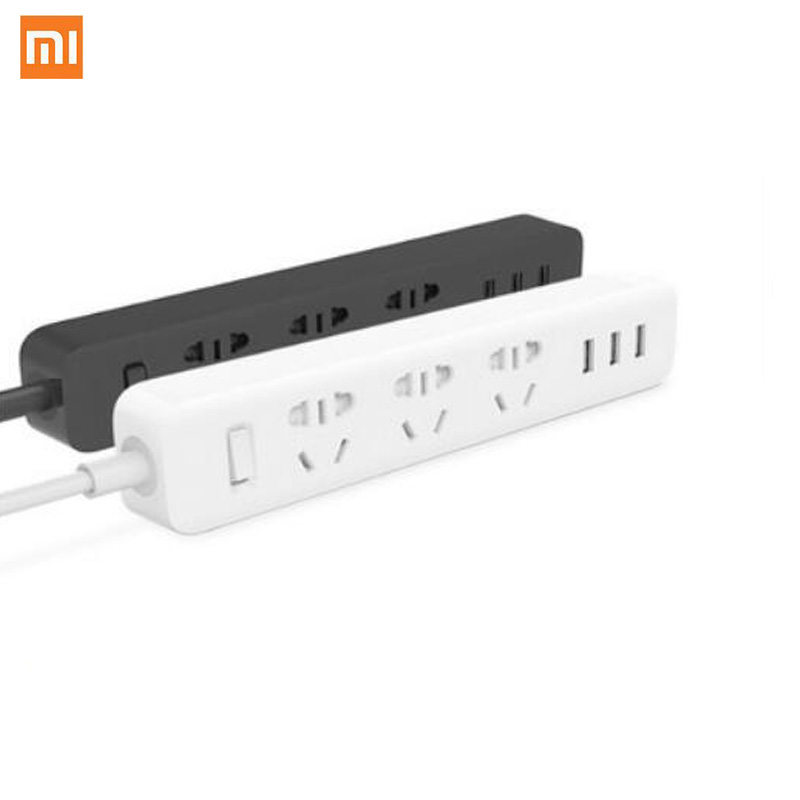 Xiaomi Socket Plug Power Board With 3 USB 1.8 Extension Cable Multifunction Fast Charging Board 10A 250V 2500W