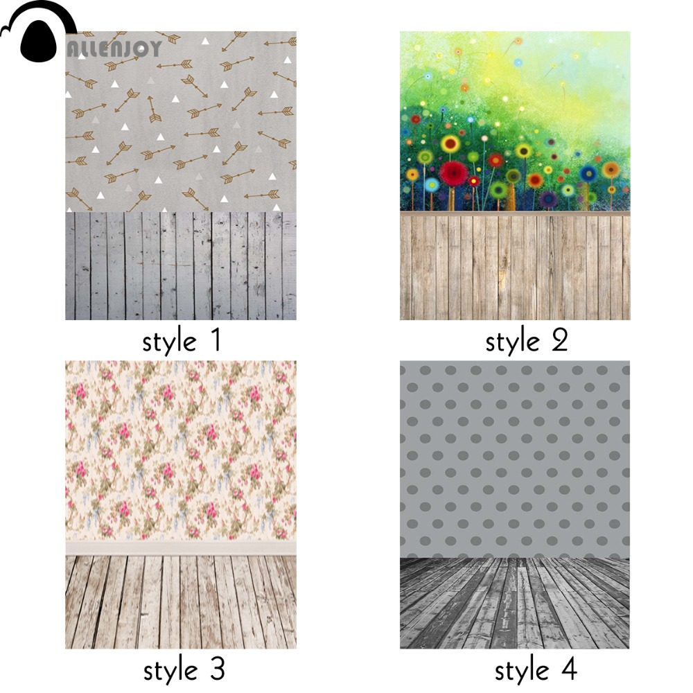 Allenjoy children photography wood board baby backdrop 3x5ft photo background lovely patterns professional photo booth photocall allenjoy backdrop spring background green grass light bokeh dots photocall kids baby for photo studio