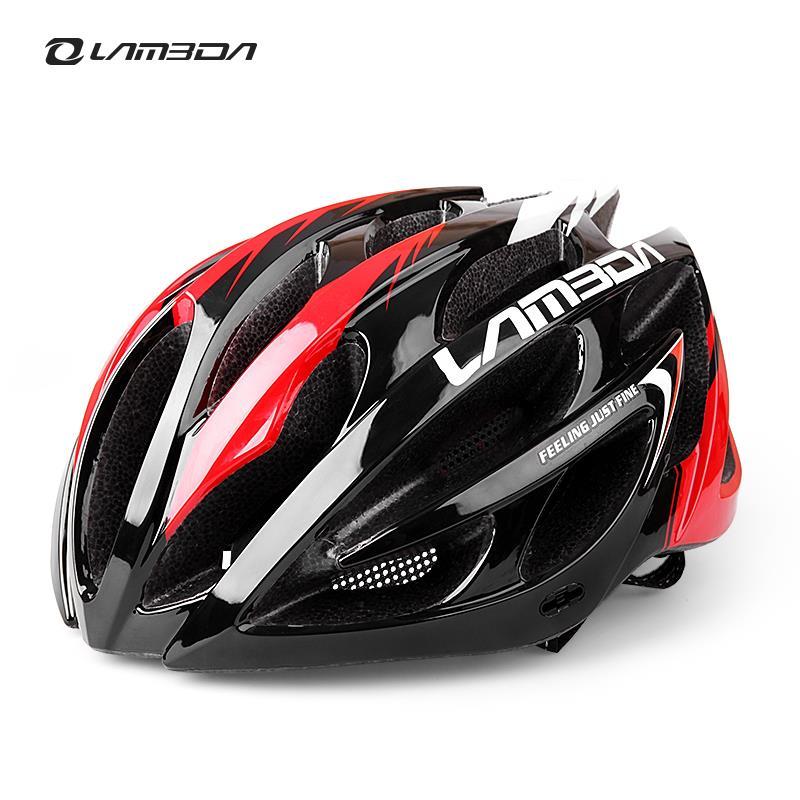 Цена за LAMBDA интегрального под давлением Велоспорт Шлем для Велосипеда MTB 23 Вентс Сверхлегкий Велосипедный Шлем H069