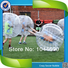 Top quality funny soccer bubble ,inflatable ball suit